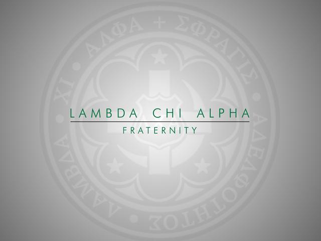 Lambda chi alpha zeta positions for sexual health