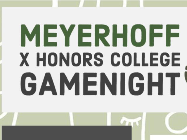 Hcc X Meyerhoff Game Night Honors College Council Myumbc