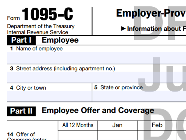 Update On Aca Tax Forms 1095 B And 1095 C Department Of Human